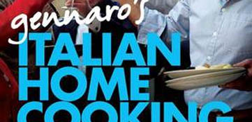 Cover van Gennaro's Italian Home Cooking
