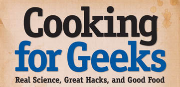 Cover van Cooking for Geeks