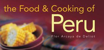 Cover van Food and Cooking of Peru