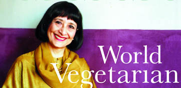Cover van Madhur Jaffrey's World Vegetarian