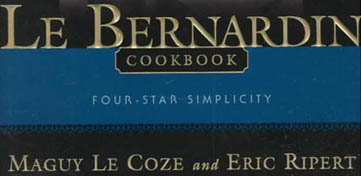Cover van Le Bernardin Cook Book
