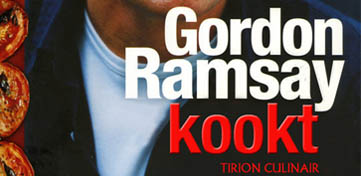 Cover van Gordon Ramsay kookt
